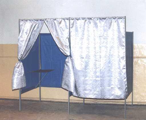 Как собрать кабинку для голосования схема